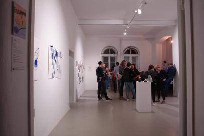 Ausstellungseröffnung im Frappant