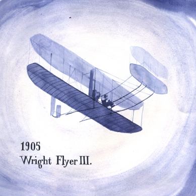 The first really successful motorized plane was the Wright Flyer III from 1905